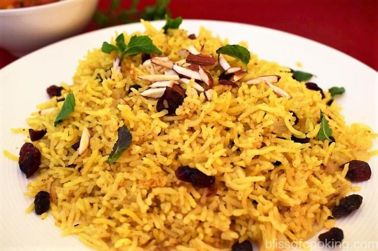 Basmati Pilaf with Dry Fruits
