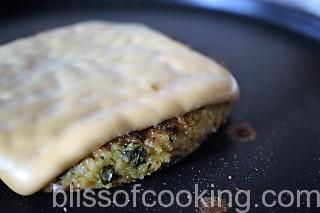 Healthy Millet and Veggie Burger