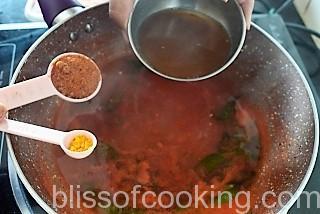Tomato Drumstick Rasam, Charu, Saaru