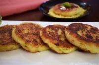 Matar Bhari Aloo Tikki, Patties, Peas stuffed Potato Patties, Tikki