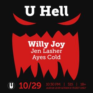 U Hell at U Street Music Hall 10/29
