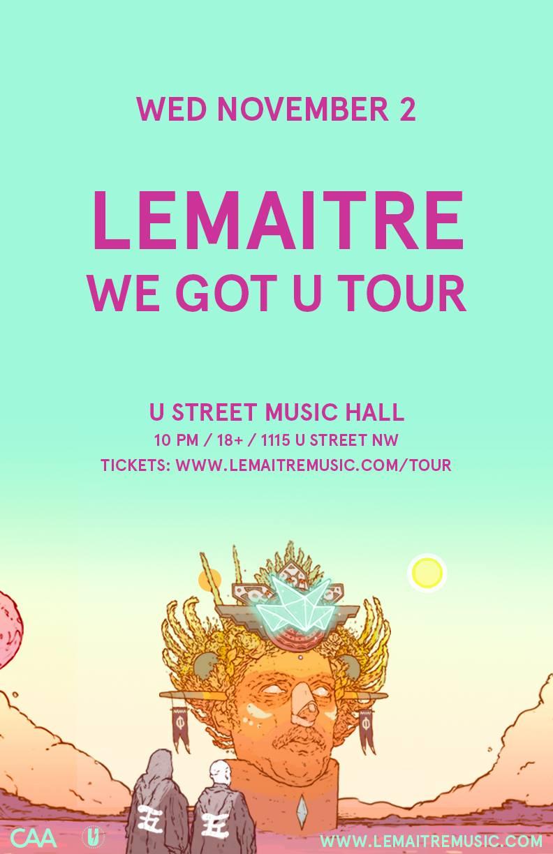 Lemaitre at U Street Music Hall on November 2