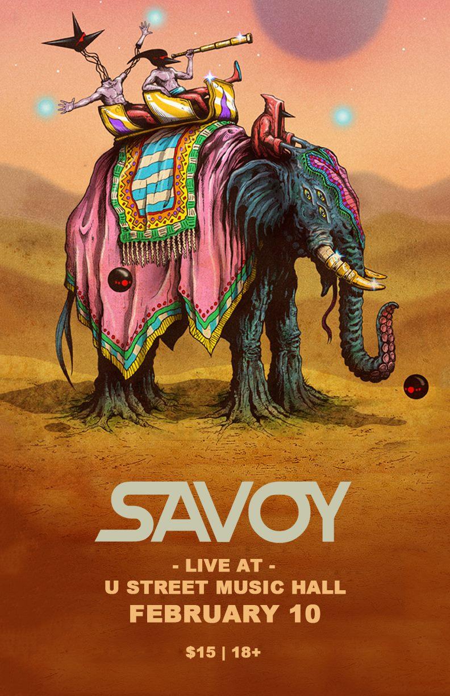 Savoy live at U Street Music Hall February 10