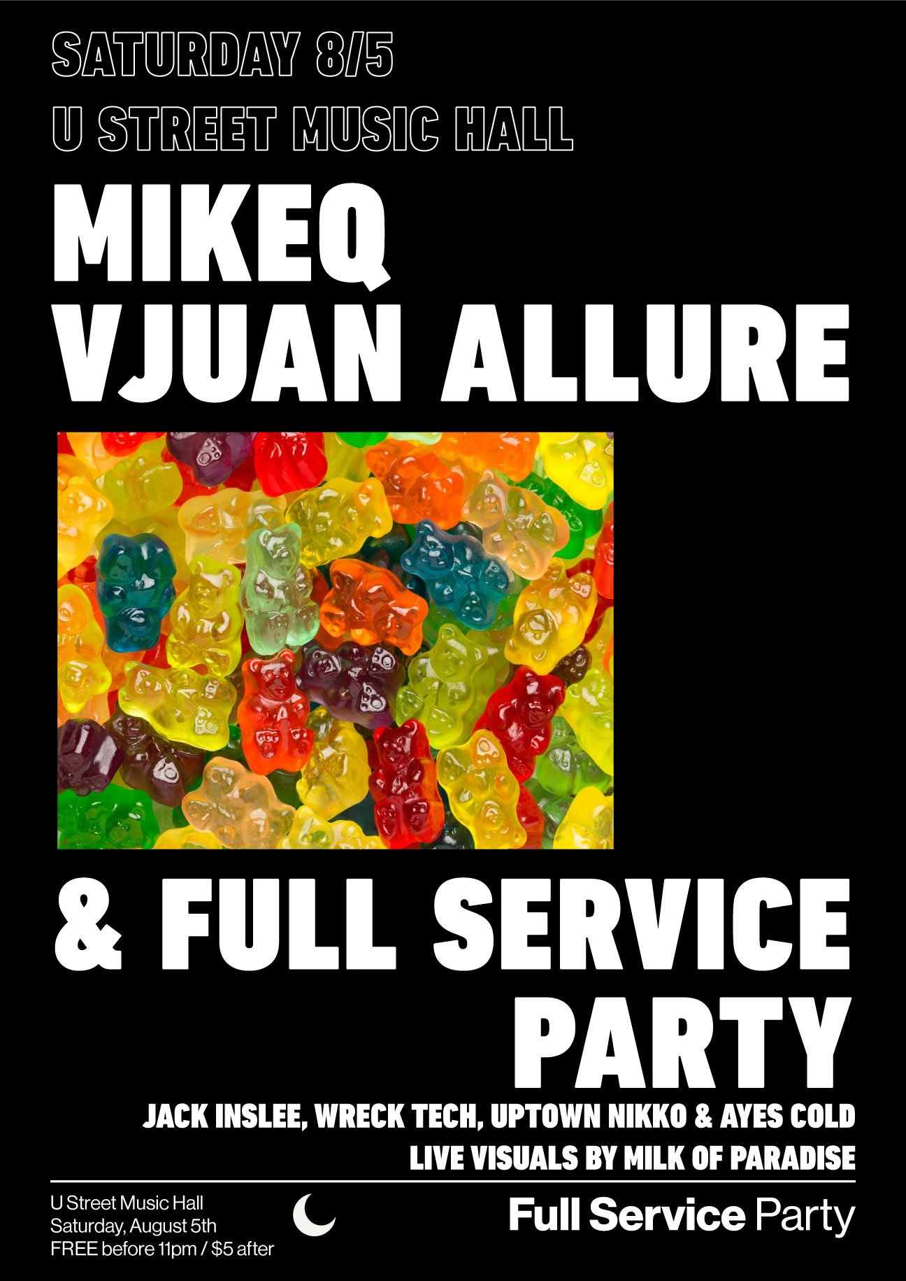 Full Service Party Aug 5 2017