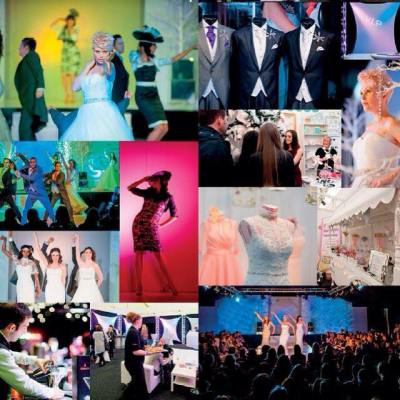 Collage of images from The Liverpool Wedding Show