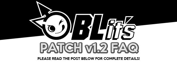 Patch 1 2 FAQ » BLits Games