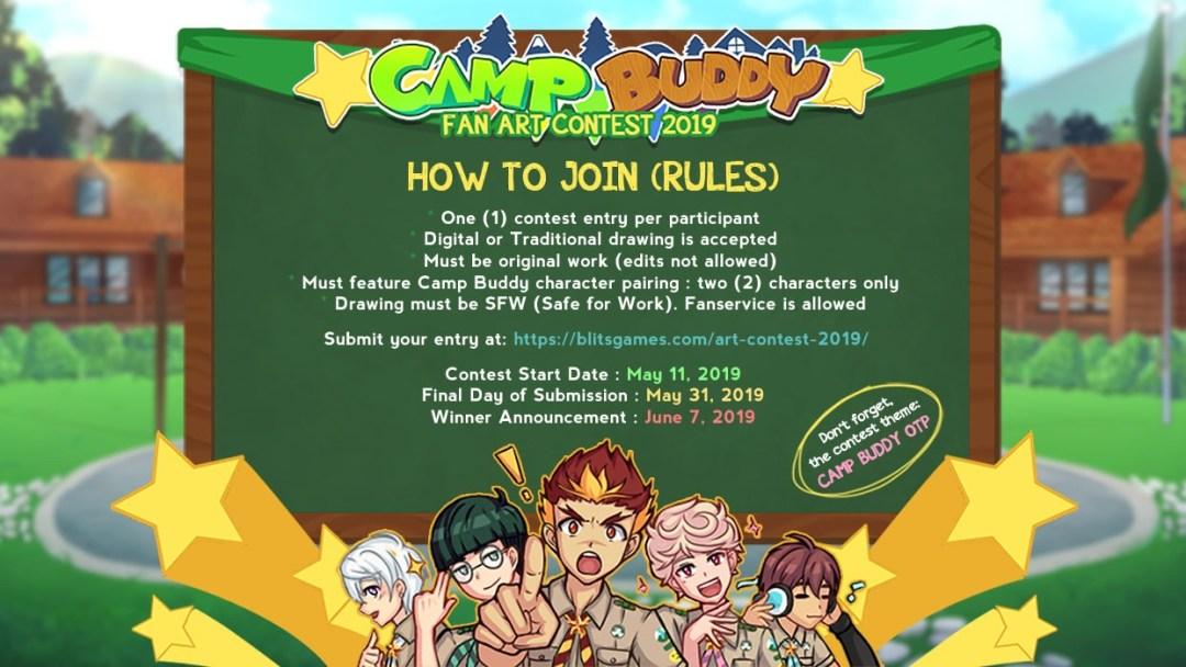 Camp Buddy Fanart Contest 2019 » BLits Games