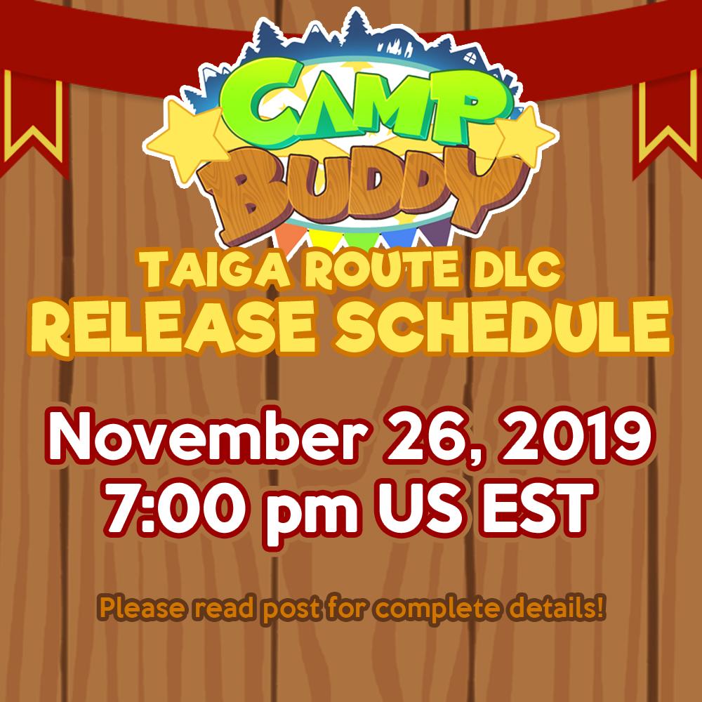 Taiga Route DLC: Release Date