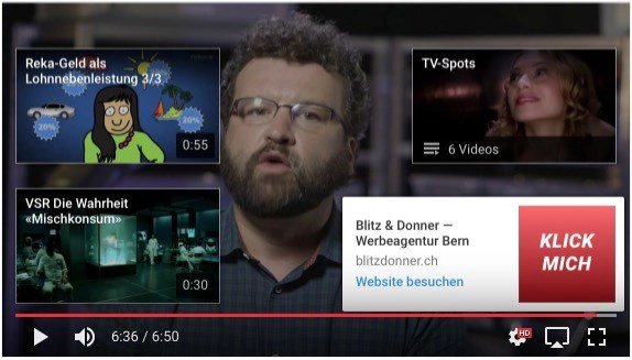 Abspann-Tool Youtube erklärt – Link offen