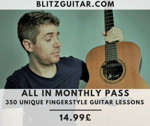 Access all the Courses at blitzgutiar.com. All in monthly pass