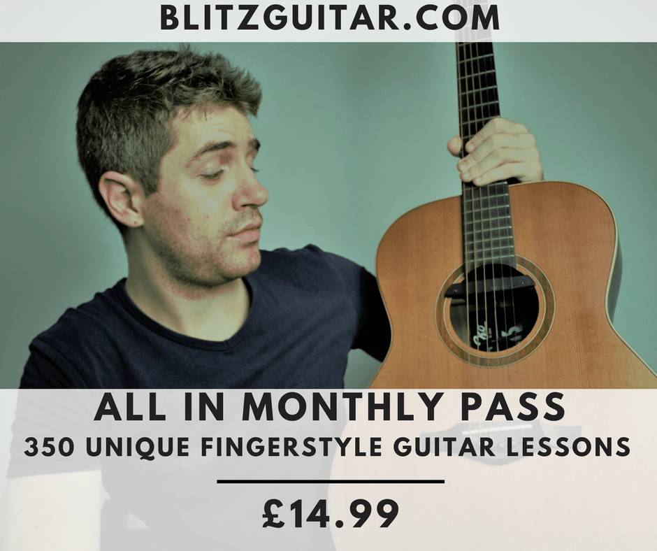 BlitzGuitar All in Monthly Pass