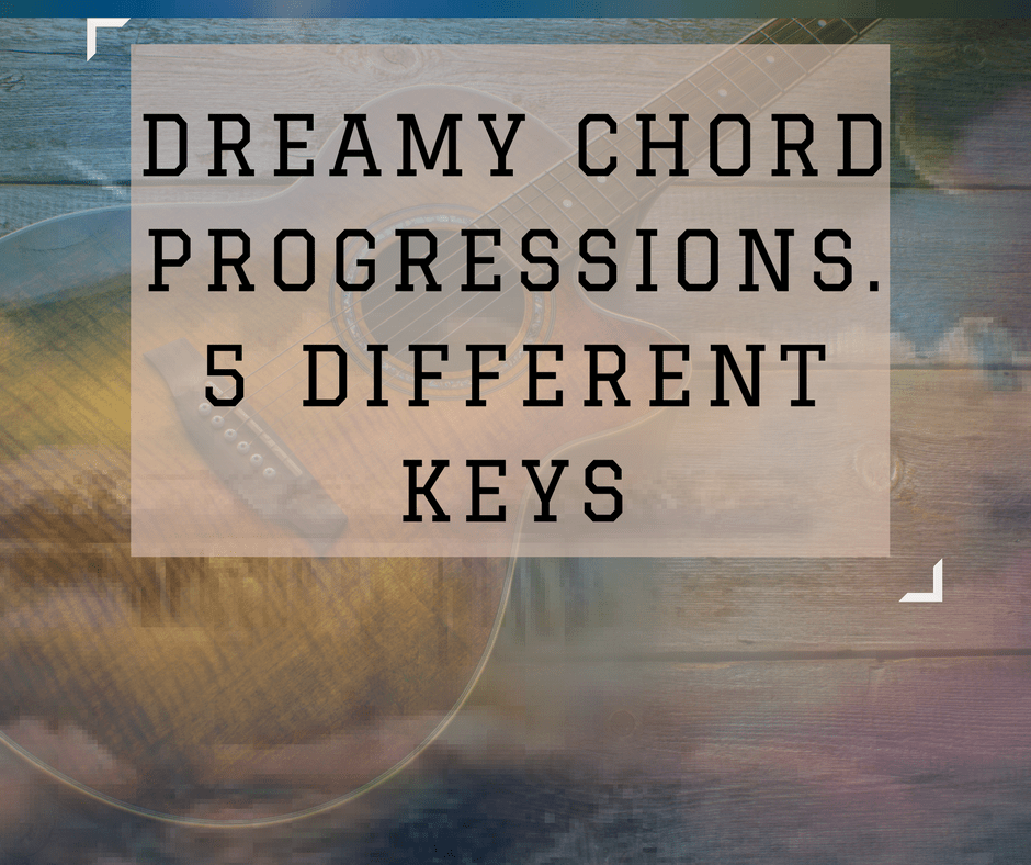 Dreamy Chord Progression on Guitar. Creative Fingerstyle Guitar Lesson