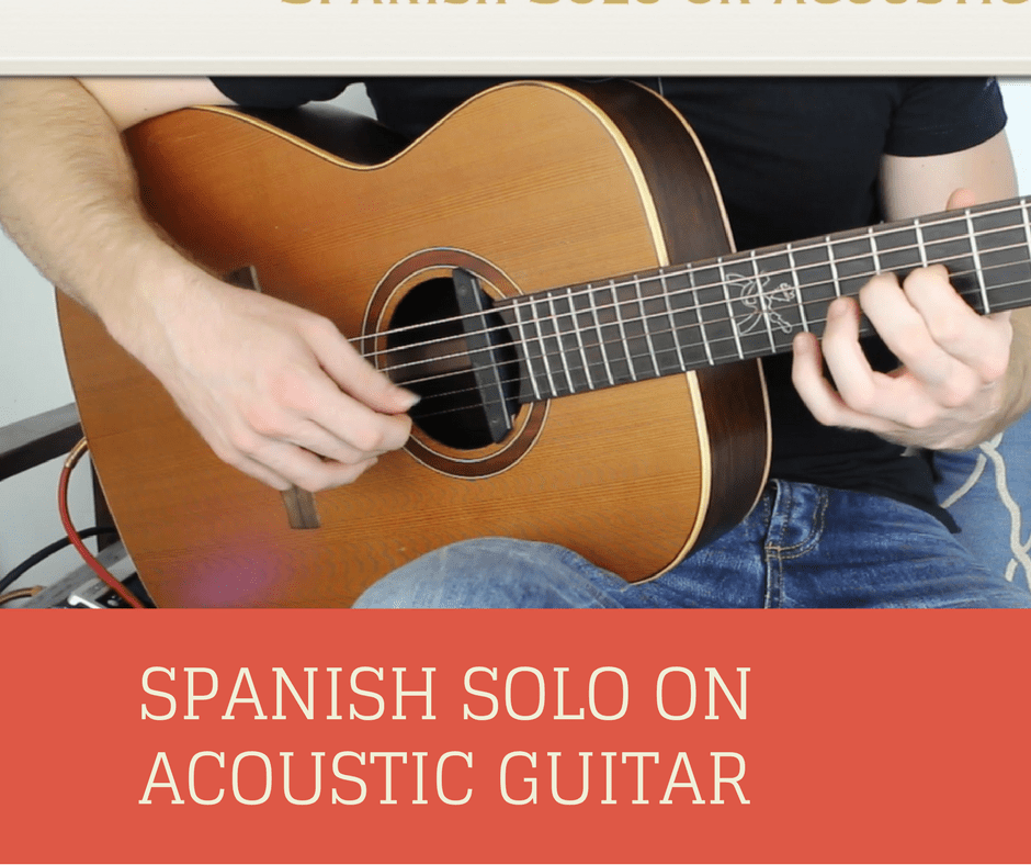 Spanish Solo on Acoustic Guitar
