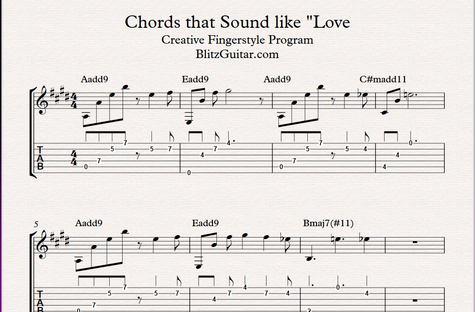 The Chords That Sound Like Love The Add9 Chords