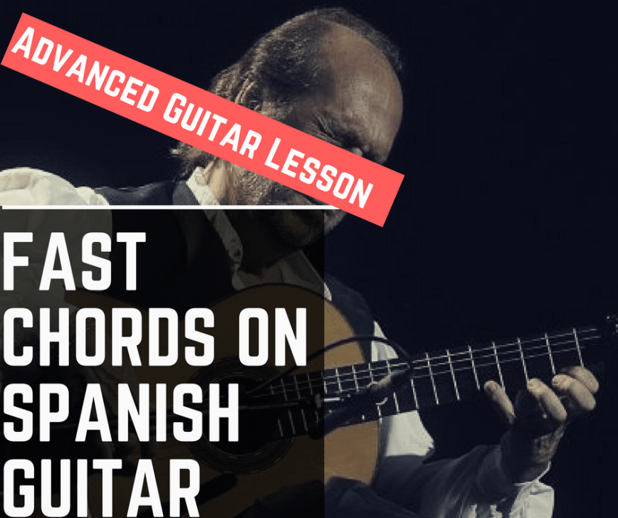 Spanish Guitar in 4 Steps - Intro, Chord Progression, Melody and Ending.