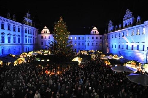 Weihnachtsmarkt Schloss Regensburg