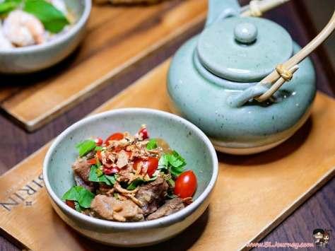 Casa Nithra , sirin , thai cusine , อาหารไทย , สามเสน , โรงแรม , รีวิว , review , สิริน , pantip , wongnai , bljourney , กุ้งแม่น้ำ