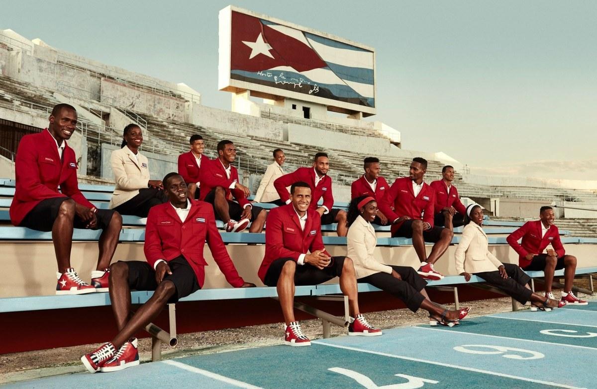Christian Louboutin pour l'équipe de CUBA