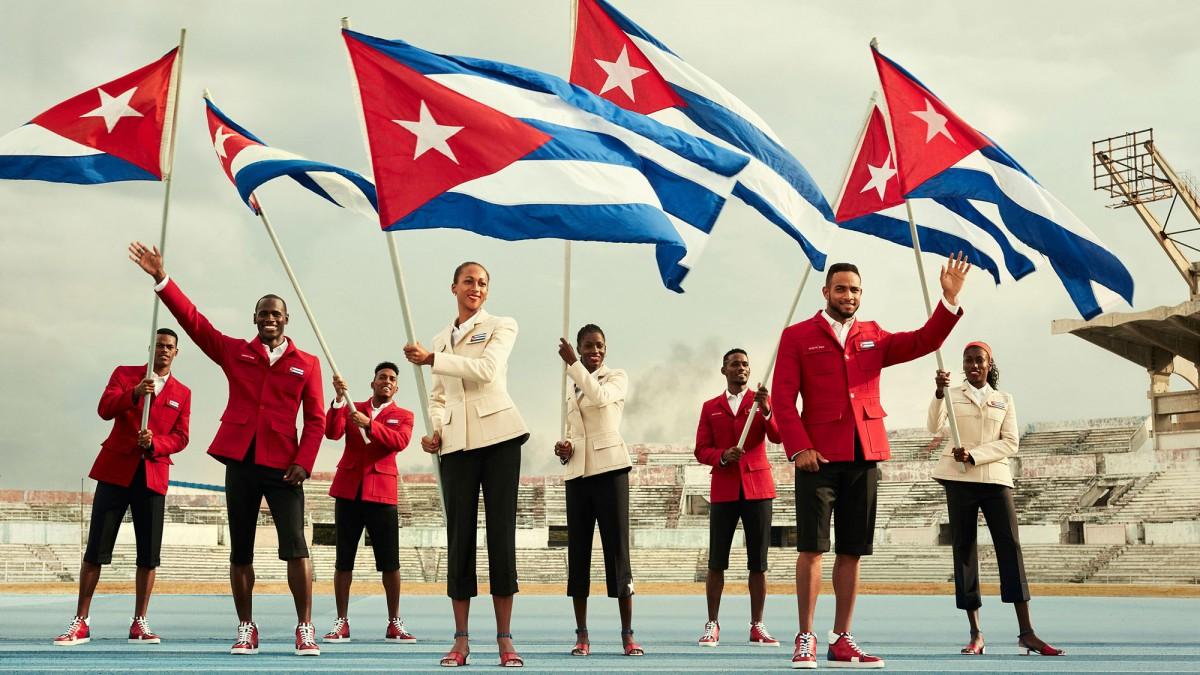 Christian Louboutin pour l'équipe de CUBA5