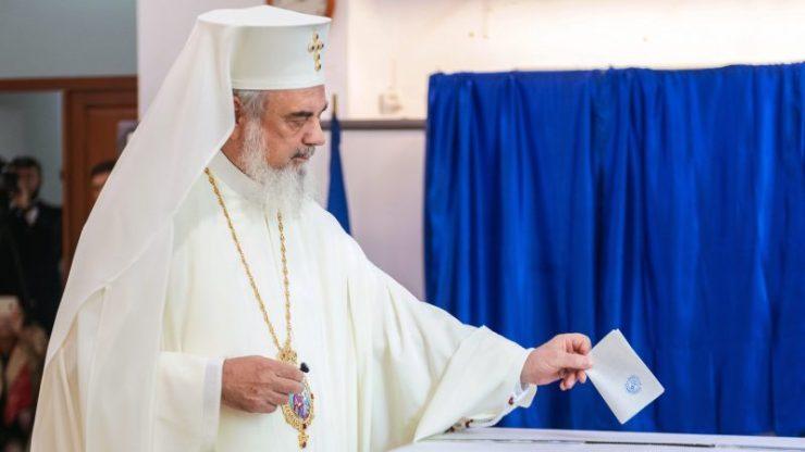 Il Patriarca Ortodosso Daniel alle urne