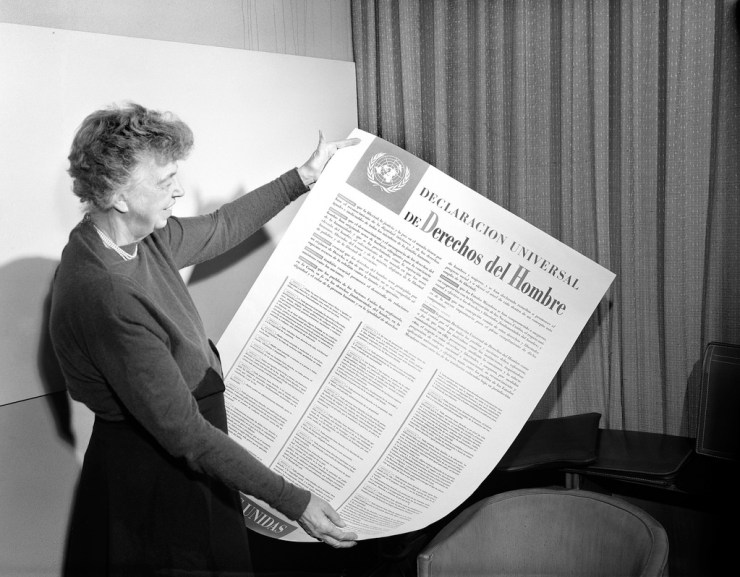 roosevelt diritti umani