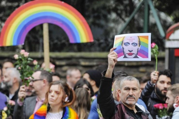 Proteste antigay