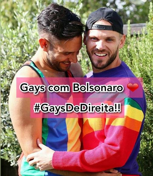 Gay con Bolsonaro