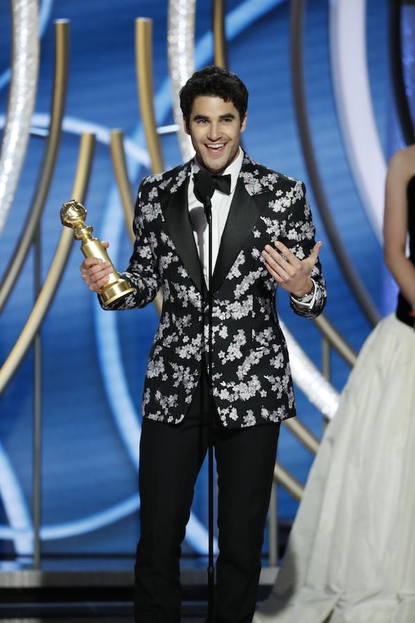 Darren Criss Golden Globe