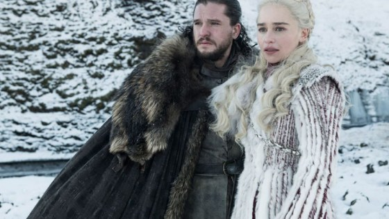 jon e daenerys game of thrones