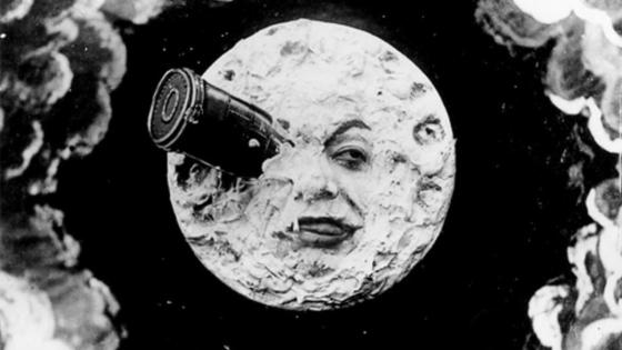 La luna e il cinema