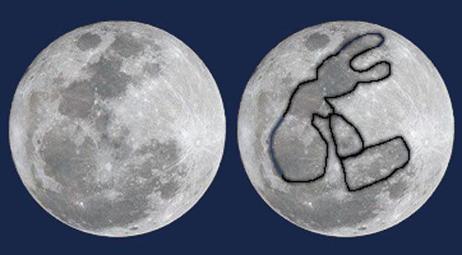 leggenda coniglio della luna
