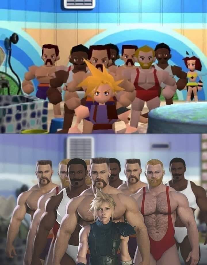 Final Fantasy VII gay