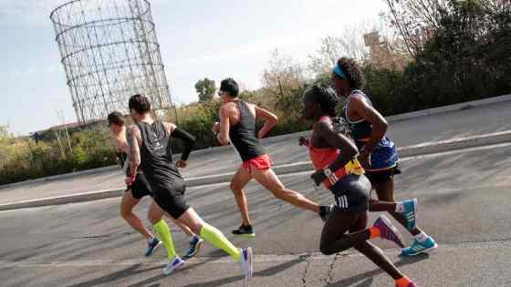 jogging coronavirus