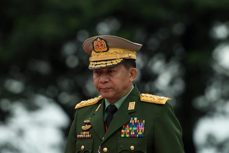 Min Aung Hlaing capo forze armate
