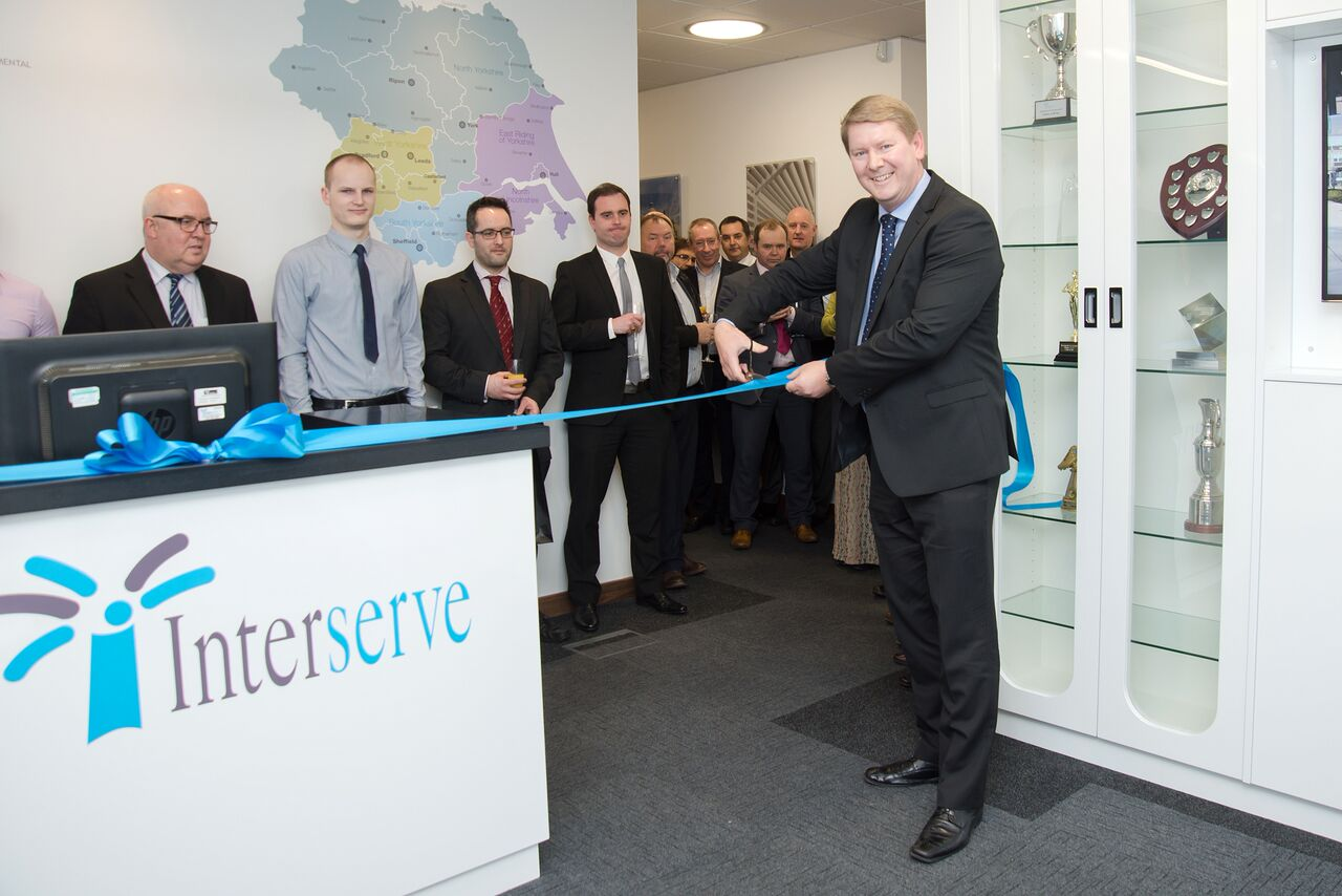 interserves newly refurbished office reflects continued