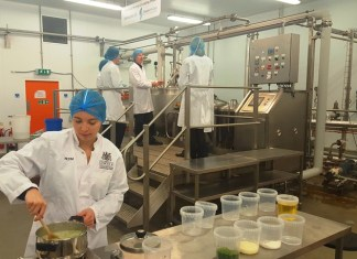 Graduate trainees taste the future of food manufacturing at Lincoln Uni