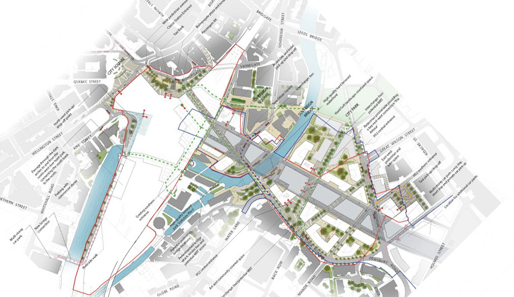 Council prepares principles for leeds station blueprint business leeds station malvernweather Images