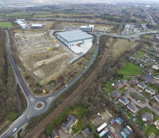 Capitol Park Barnsley remedies South Yorks' shortage of industrial stock