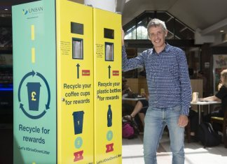Industry giants tackling 'on-the-go' recycling with Leeds campaign