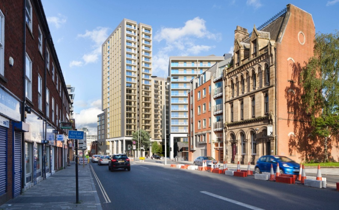 £4m Manchester contract for Rotherham's Horbury Facades