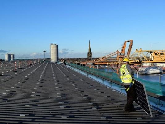 ABP invests £1m in Port of Goole solar initiative
