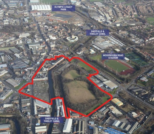 'Exciting' Sheffield development brought to market