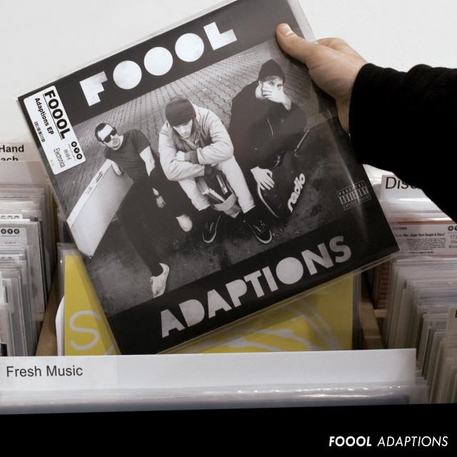 "Foool Recordcover 2013 ""Adaptions"""