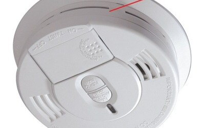 motion activated smoke detector camera