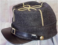 Trimmed CS Officer's Kepi