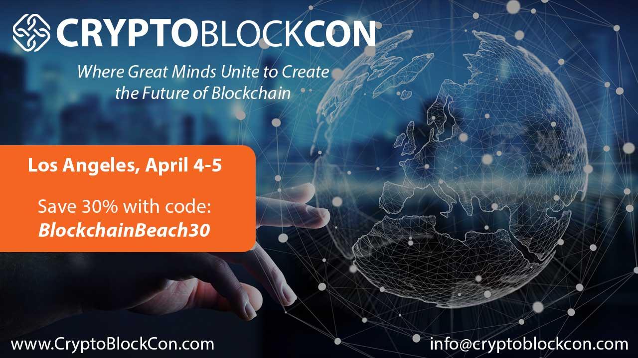 Verified Conference: CryptoBlockCon LA | Blockchain Event