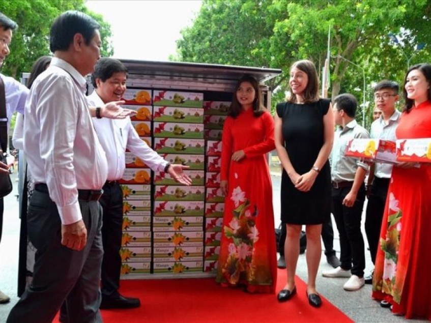 Blockchain Enables Vietnamese Mangoes to Enter American Markets