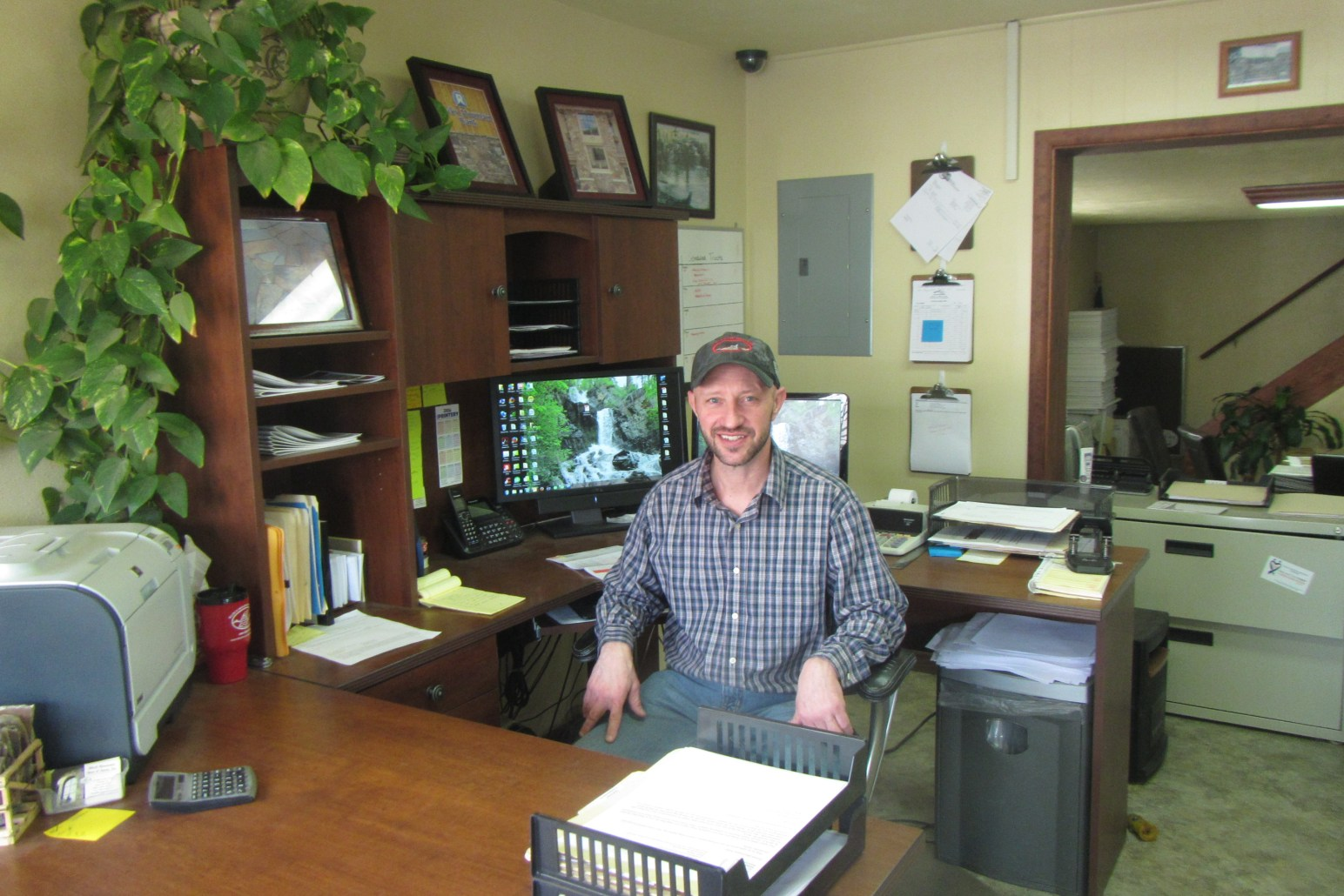 Maury Johnston - Office Manager