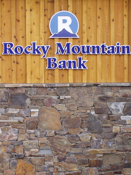 Elk Mountain - Front of Rocky Mountain Bank