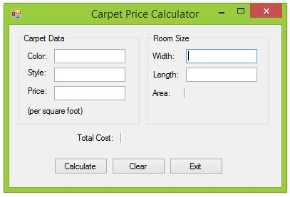 Carpet Cost Calculator 28 Images Srs